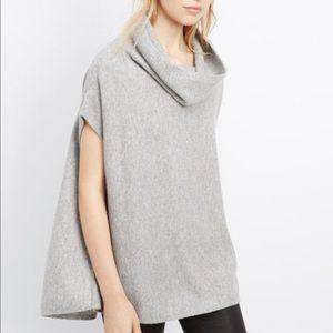 Vince Cashmere Turtleneck Sweater Med Gray